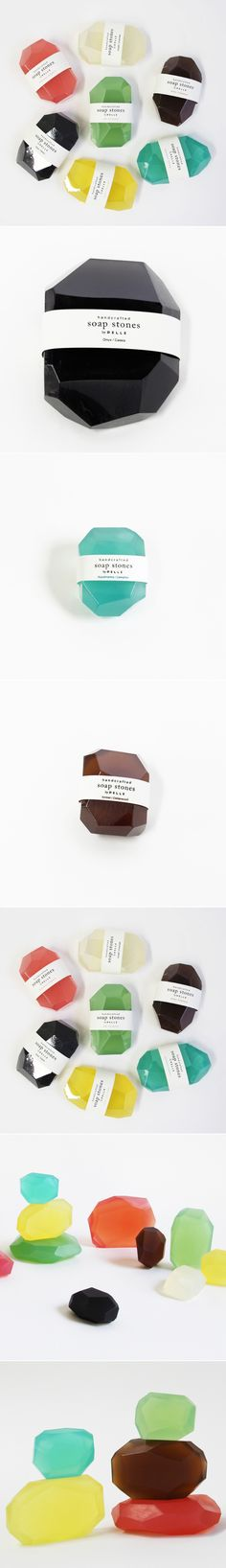 Soap Stones | http://www.thedieline.com/blog/2014/4/23/pelle-soap-stones