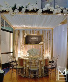 Muskoka Wedding Show Booth designed by Mode Function Event Design Ltd.    Web: www.modefunction.com    Twitter: www.twitter.com/ModeFunction  Facebook: www.facebook.com/ModeFunctionEventDesign    Muskoka Wedding Show: www.facebook.com/MuskokaWeddingShow