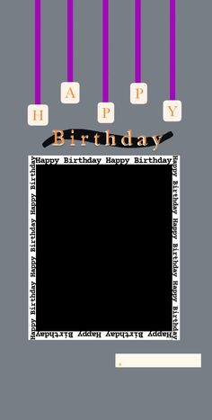Happt Birthday, Birthday Posts, Birthday Frames, Birthday Captions Instagram, Birthday Post Instagram, Happy Birthday Template, Happy Birthday Banner Printable, Happy Birthday Quotes For Friends, Happy Birthday Images