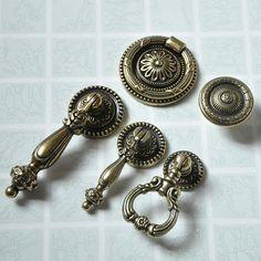 Vintage Style Drawer Pull Dresser Pulls Knobs Handles by LBFEEL