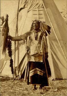 Mato Wakantuya - Chief High Bear - Hunkpapa, 1898