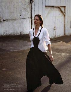 sheer elegance: linda jeuring by annemarieke van drimmelen for vogue netherlands june 2013 | visual optimism; fashion editorials, shows, campaigns & more!