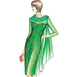F3660, Marfy Dress