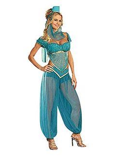 4 Stück Arabische Nacht Bauchtänzerin Harem Kostüm Größe 36-38
