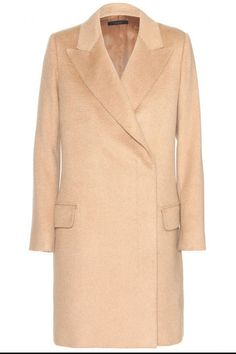 A coat you'll keep forever. See our favorite camel coats for women: