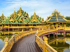 Pavilion of the Enlightened in Ancient Siam.