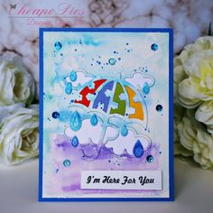 Gloria's craft room: Rainy Day