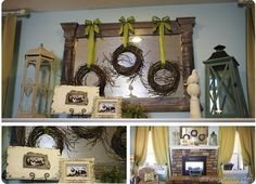 Cute displays...great ideas!