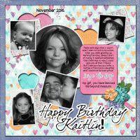 Happy Birthday Kaitlin!