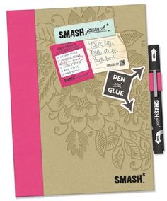 SMASH Folio Pretty Style Pink