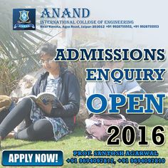 Anand International College of Engineering as a fast growing technical college has made remarkable progress towards excellence Such a notable achievement has been possible because of the clear vision of the management to make a positive contribution in the field of quality based technical education. Visit our website: http://www.anandice.ac.in/ #collegeadmission #EngineeringCollege