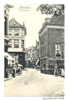 de Nieuwstraat vanaf de Markt gezien ,wat een beeldschoon plaatje