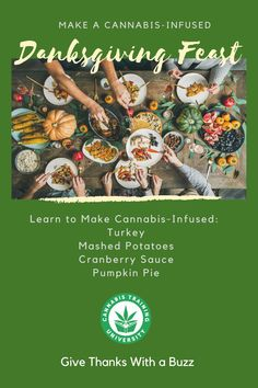 Learn to Make Cannabis-Infused Turkey, Mashed Potatoes, Cranberry Sauce and Pumpkin Pie, Plus How to Tame the Buzz at the End of Thanksgiving with CBD Coffee!    #Thanksgiving #Danksgiving CBD #marijuanamovement #marijuana #cannabis #cannabiscommunity #cannabisculture #marijuanagrowers #marijuanacommunity #remotelearning #dispensary #medibles #marijuanaedibles #jobtraining #growyourown #medicalmarijuana #MMJ #weed #sativa #indica #THC #hemp #kush #homegrown #cannabisgrowers #ganjafarmer Marijuana Recipes, Marijuana Plants, Holiday Centerpieces, Medical Cannabis, Cranberry Sauce, Ganja, Weed, Mashed Potatoes, Thanksgiving