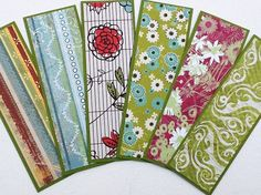 Inspirational Quote Bookmarks, Set of 6 Handmade Bookmarks with ...
