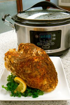 Having an intimate thanksgiving or wondering if you can prepare a turkey dinner in a slow cooker? Try this recipe for Herb Turkey Breast in a Slow Cooker. http://www.hamiltonbeach.com/products/recipes/slow-cooker-herb-turkey-breast.html