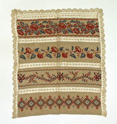 Apron / Date: 1800–1942 Culture: Russian Medium: linen