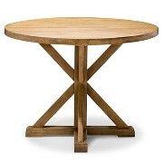 Farmhouse Round Dining Table - Acorn