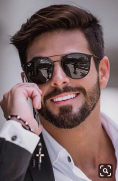Haircuts for Men 2019 Latest Hairstyles for Men 30 New Hair Looks to Copy In 2019 Best Mens Sunglasses, Trending Sunglasses, Mens Hairstyles With Beard, Cool Hairstyles For Men, Beard Styles For Men, Hair And Beard Styles, Side Swept Hairstyles, Men's Hairstyles, Latest Hairstyles