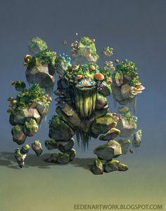 Stone Golem v2 by Eedenartwork on DeviantArt