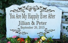 You Are My Happily Ever After  CUSTOM STENCIL by SuperiorStencils