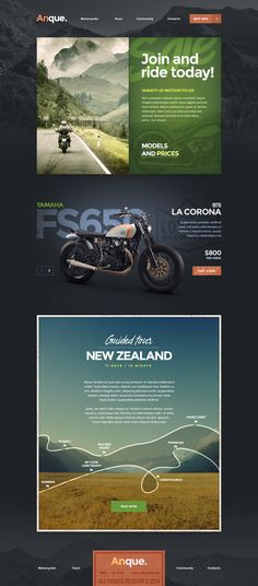 Unique Web Design, Anque #WebDesign #Design (http://www.pinterest.com/aldenchong/)