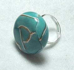 Ring  Handmade from Polymer Clay  One of a Kind by MyStudio91, $8.00
