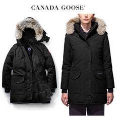 CANADA GOOSE ダウンジャケット・コート CANADA GOOSE Trillium Parka Fusion Fit すっきり引き締めBlack Canada Goose Women, Canada Goose Jackets, Parka, Winter Jackets, Fitness, Fashion, Winter Coats, Moda, Winter Vest Outfits