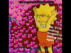 Heart Meme Edits - YouTube Cute Cat Memes, Cute Love Memes, Funny Memes, Heart Meme, Sad Heart, Sad Wallpaper, Crush Memes, Insta Videos, Looking Forward To Seeing You