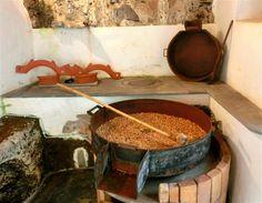 Molino de gofio, Grande Canarie (Espagne)