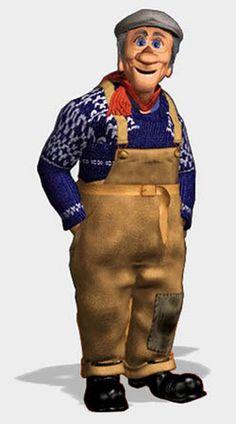 Reodor Felgen/Flåklypa Norwegian Style, Childhood Memories, Norway, Decoupage, It Cast, Barn, 3d, Tattoo, People