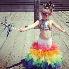 Toddler mermaid Rainbow mermaid Handmade mermaid costume  iseestarsandmoons@yahoo.com email for custom orders