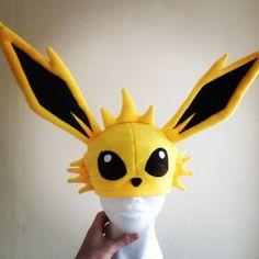 Homemade pokemon hat Jolteon by KurtabraHats on Etsy, £24.00