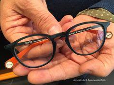Die zwei DesignerInnen Nadine Roth und Pascal Jaulent, die auch für die Kollektion von Face á Face gestalten, gehen für WOOW mit Kreativität, Individualität und Lust an witzigen Details ans Werk. Round Glass, Designer, Glasses, Eyewear, Eyeglasses, Eye Glasses