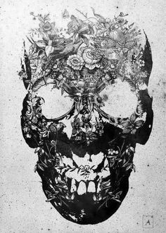 I'm definitely getting a skull with flower eyes on one thigh and red roses on the other!