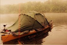 Canoe tent! Love it!(L)