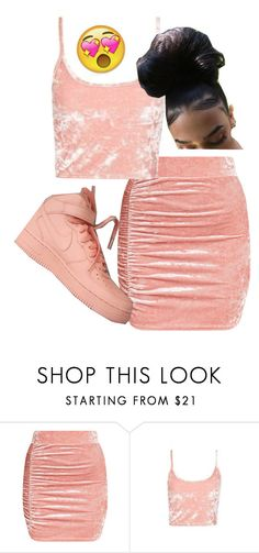 """Untitled #165"" by bxbysnoop ❤ liked on Polyvore featuring Topshop and NIKE"