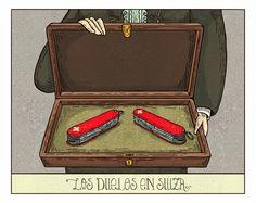 Los duelos en Suiza