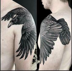 Taken by mauddardeau on Friday April 2017 Mutterschaft Tattoos, Tattoo Shirts, Skull Tattoos, Animal Tattoos, Body Art Tattoos, Tattoos For Guys, Tree Tattoos, Elephant Tattoos, Tattoo Ink