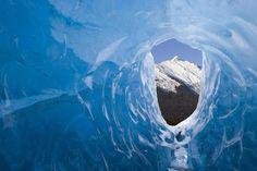 Le grotte di ghiaccio del Mendenhall, #Alaska