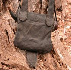 Jeff Bibb Hunting Pouch - BACK