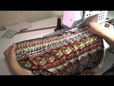 Comment faire une robe en smoke - YouTube