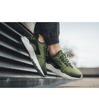 premium selection 5c5f6 e6831 Nike Air Huarache Ultra Olive Noir