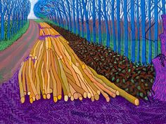 David Hockney exhibition at the Royal Academy of Arts London. 21 January—9 April 2012.