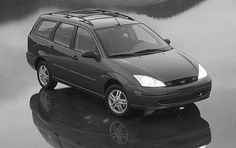 Ford Focus Wagon. Great little car that hauls more than some minivans or SUVs.