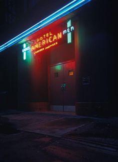 American Hotel, Rear Entrance.  Vancouver, 1975. Greg Girard