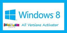 Windows 8 Activation Crack All Versions 2015 Download