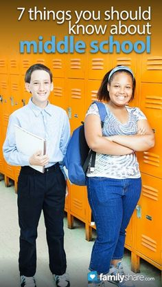 Top 7 things you should know about middle school