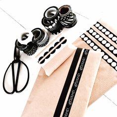 Inpakken! Met onze zelf ontworpen maskingtapes!!!