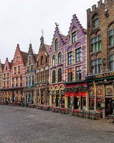 Colours of Grote Markt ~ Brugge, Belgium Phot
