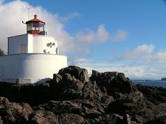 Lighthouses of Canada: Southern British Columbia Point Light, Beacon Of Light, Vancouver Island, Lighthouses, British Columbia, Canada, Tsunami, West Coast, Surf
